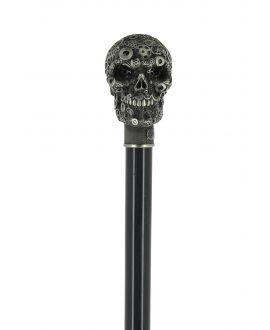 gears skull cane - 2 Saints