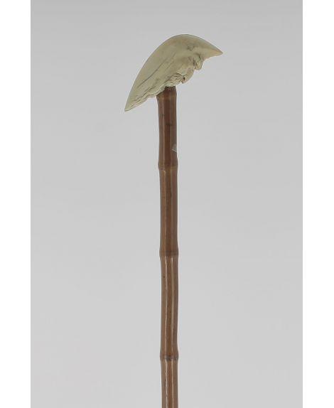 Moon shaped ivory handle