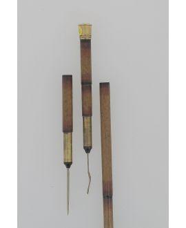 Picnic cane gold knob 1870
