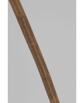 Rush shaft engraved with needle and ink, circa 1830