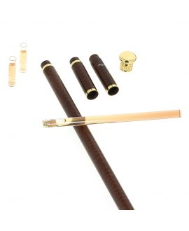Tippling stick, gold plated