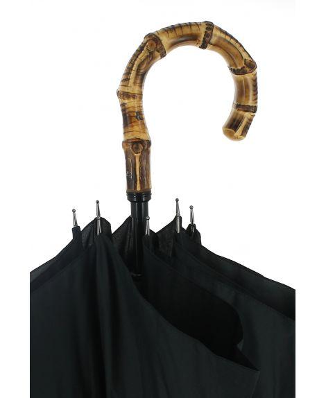 Sword - black umbrella with bamboo root (Java) handle